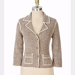 Anthropologie Maple Professora Cardigan Jacket